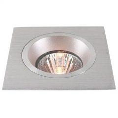 Innfelt lampe i aluminium