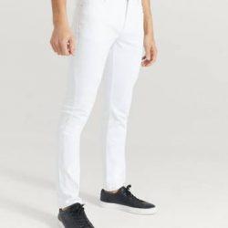 Just Junkies Jeans Jeff White Hvit