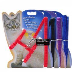 Kattesele med lenke, flere farger