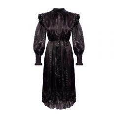 'Lara' dress with long sleeves