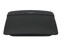 Linksys E1200 - Trådløs ruter - 4-portssvitsj - 802.11b/g/n - 2,4 GHz