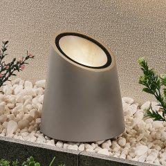 Lucande gulvlampe Andri, utespot, betong
