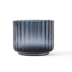 Lyngby Telysholder Glass Blå Liten H5,5 cm