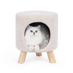 Lys kattehule krakk