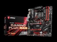 MSI B450 GAMING PLUS MAX - Bundkort - ATX - Socket AM4 - AMD B450 - USB 3.1 Gen 1, USB 3.1 Gen 2 - Gigabit LAN - onboard grafik (CPU påkrævet) - HD Audio (8-kanaler)