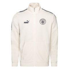 Manchester City Treningsjakke FtblCulture - Hvit/Navy Barn