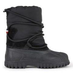 Moncler Fur-lined bi-material ankle boots - Chris 37 EU