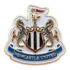 Newcastle United Pins Badge - Hvit