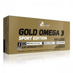Olimp Gold Omega-3 Sport Edition® - 120 kapsler