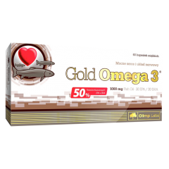 Omega 3 Gold, 1000 mg, 60 kapsler