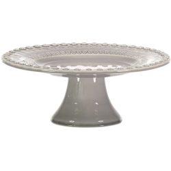 PotteryJo Daisy Kakefat 22 cm Soft Grey