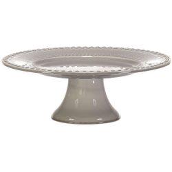 PotteryJo Daisy Kakefat 35 cm Soft Grey