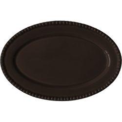 PotteryJo Daria Ovalt Serveringsfat 35 cm Java Brown