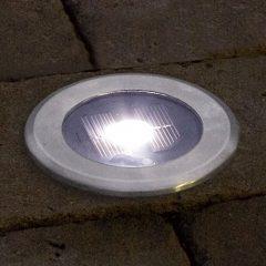 Praktisk SOLAR LIGHT LED-bakkespot