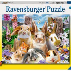 Ravensburger Puslespill Kanin Selfie 100 Biter