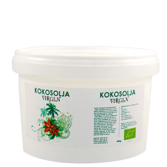 Raw Kokosolje Virgin, 400 gram