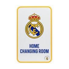 Real Madrid Hjemmedrakt Garderobe Skilt