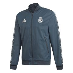 Real Madrid Jakke Anthem - Blå/Hvit Barn