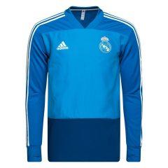 Real Madrid Treningsgenser - Blå/Hvit