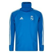 Real Madrid Treningsgenser Warm - Blå/Hvit