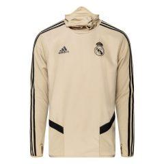 Real Madrid Treningsgenser Warm - Gull/Sort
