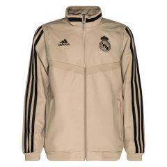 Real Madrid Treningsjakke Presentation - Gull/Sort Barn