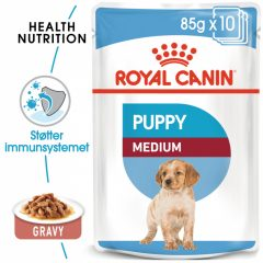 Royal Canin Medium Puppy Våtfôr 10 x 140g