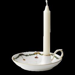 Royal Copenhagen Stjerne Riflet Christmas Lysestake / Skål