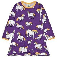 Småfolk Horses Kjole Imperial Purple 2-3 år