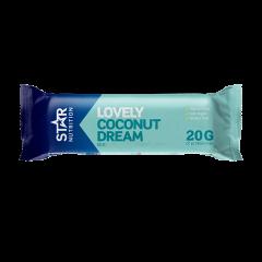 Star Nutrition Protein Bar, 55g, Coconut - kort dato