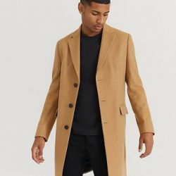 Studio Total Frakk Lambton Wool Coat Brun