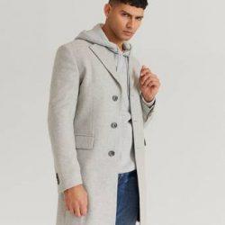 Studio Total Frakk Lambton Wool Coat Grå