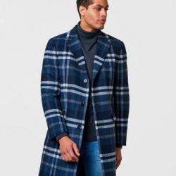 Studio Total Frakk Lambton Wool Coat Multi
