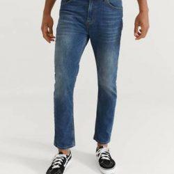 Studio Total Jeans Tapered Denim Blå