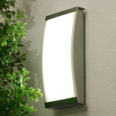 Trendy utendørs LISET LED-vegglampe med 4000 K
