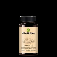Vitamin D3, 120 kapsler