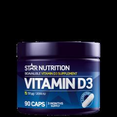 Vitamin D3, 90 kapsler
