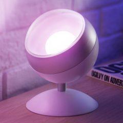 WiZ Quest LED-bordlampe, RGBW, hvit