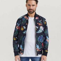 William Baxter Bomberjakke Flower Bomber Jacket Multi