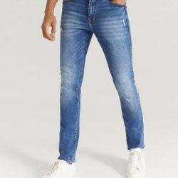 William Baxter Jeans Ted Slim Fit Blå