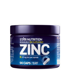 Zinc, 25 mg, 100 kapsler