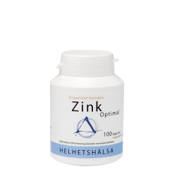 Zink Optimal 25 mg, 100 kapsler