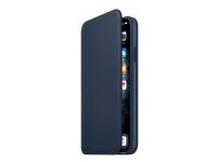 Apple Folio - Lommebok for mobiltelefon - lær - dyphavsblå - for iPhone 11 Pro Max