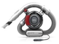Black & Decker DustBuster Flexi Auto PD1200AV - Støvsuger - håndholdt - uten pose - rød/grå