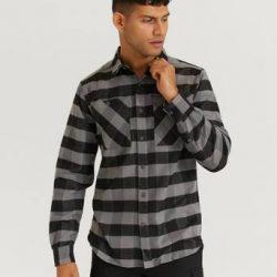 Columbia Skjorte Outdoor Elements Stretch Flannel Grå