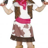 Fiestas Guirca Kostyme Cowgirl 7-9 År