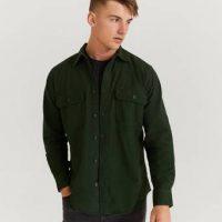Filson Skjorte Field Flannel Shirt Grønn