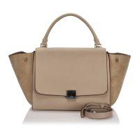Intrecciato Roma Leather Handbag