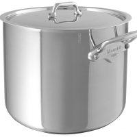 Mauviel Cook Style suppegryte med stållokk stål - 9,5 liter