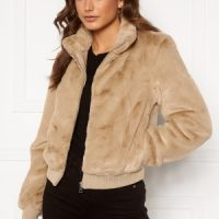 ONLY Aura Faux Fur Bomber Nomad XL
